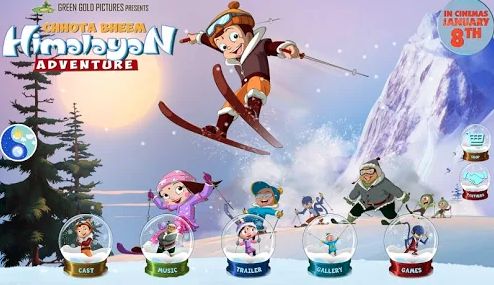 Chhota Bheem Himalayan Adventure Game