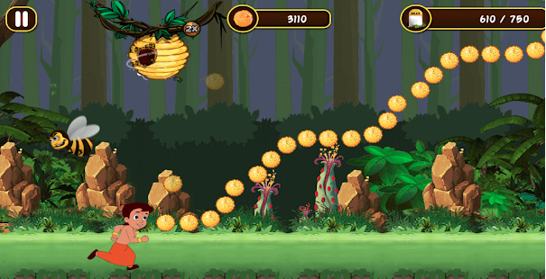 Chhota Bheem Jungle Run Game