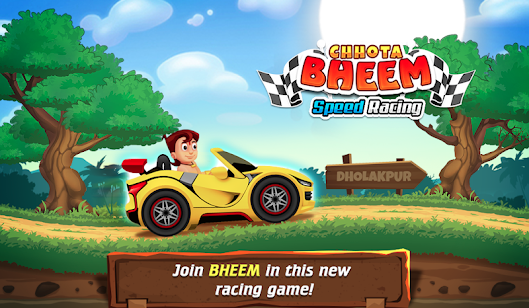 Chhota Bheem Speed Racing Game