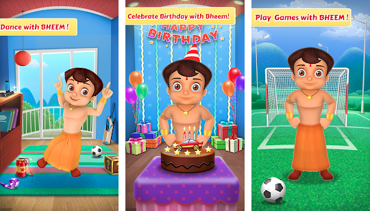Chhota Bheem Talking Toy Game