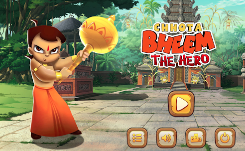 Chhota Bheem The Hero Game