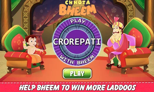 KBC Quiz Bheem Game